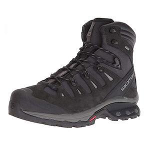 Grey hiking boot