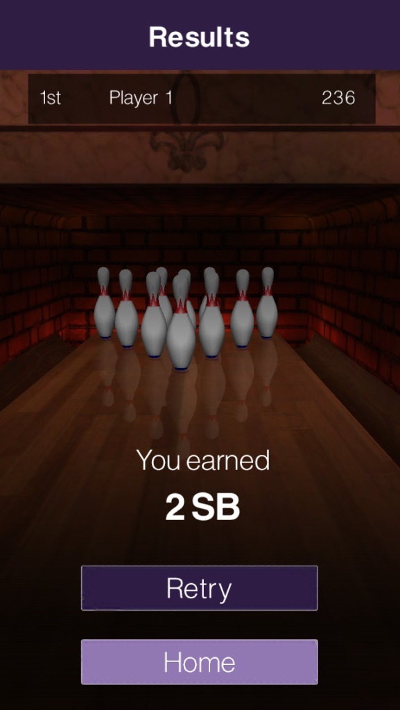 Screenshot of SB Bowling