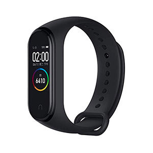 Fitbit like black fitness band