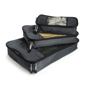 Three packing cubes