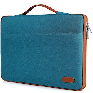 Turquoise laptop case for travel