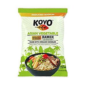 Asian vegetable ramen packet