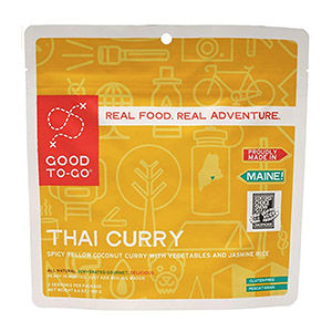 Thai curry food pouch