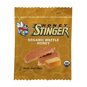 Honey stinger waffle for day hiking food
