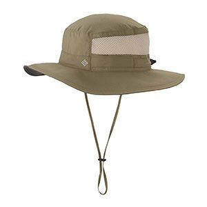 Columbia sun hat for hiking and backpacking