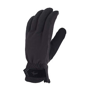 Black waterproof glove