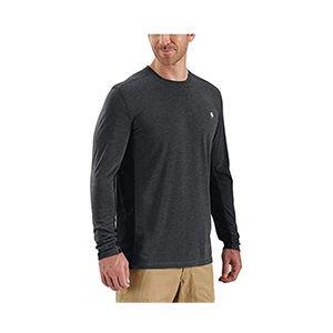 Grey, breathable hiking shirt