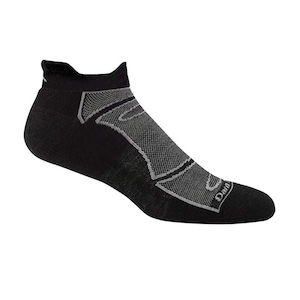 Black athletic sock