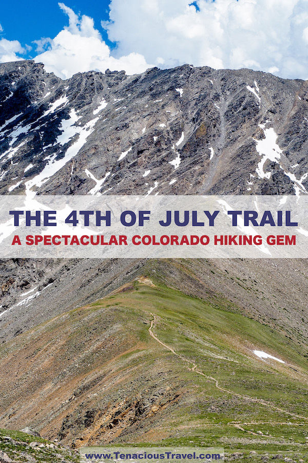 4th of July Trail: Hike Nederland's Gem (Arapaho Pass + Lake