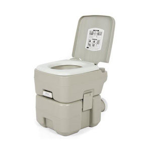 A camping toilet