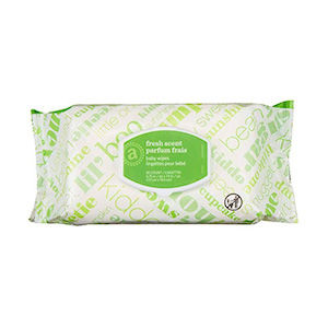 Hand wipes for living in a camper van